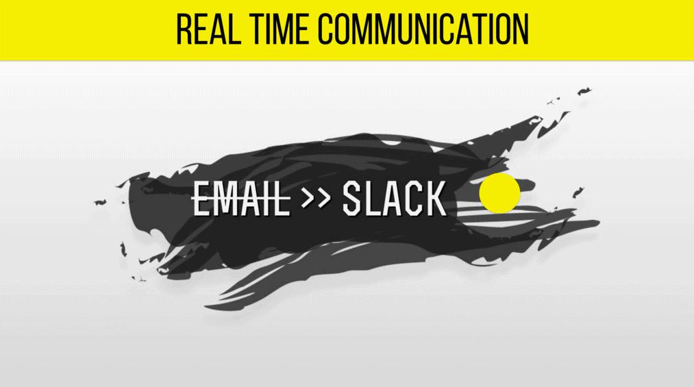 Vergiss Email! Nutze Slack! Eine der Lehren aus Petyas Vortrag auf dem WordCamp Frankfurt 2016