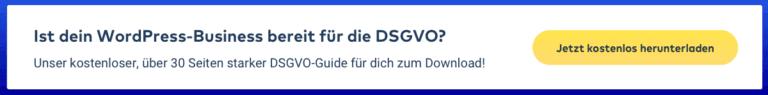 Kostenloser DSGVO-Guide für Agenturen, Freelancer & Webseitenbetreiber