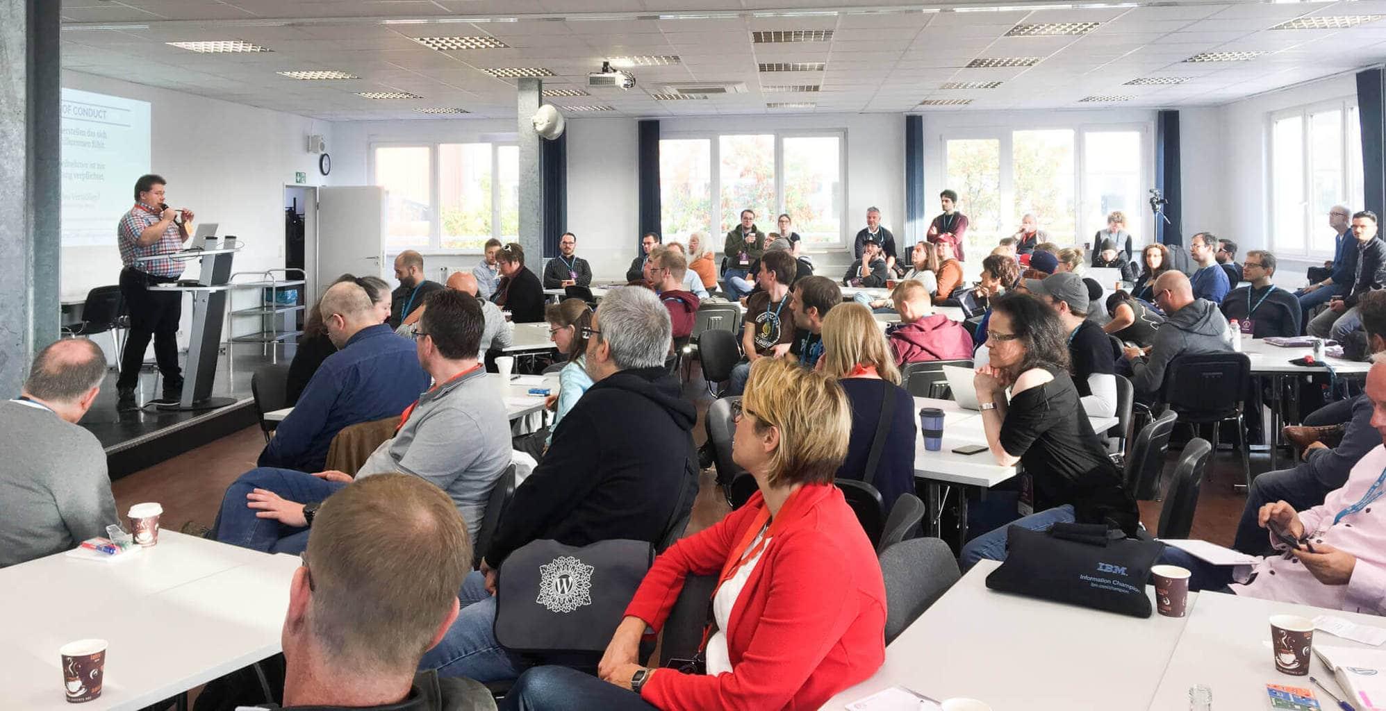 WordCamp Köln Begrüßung