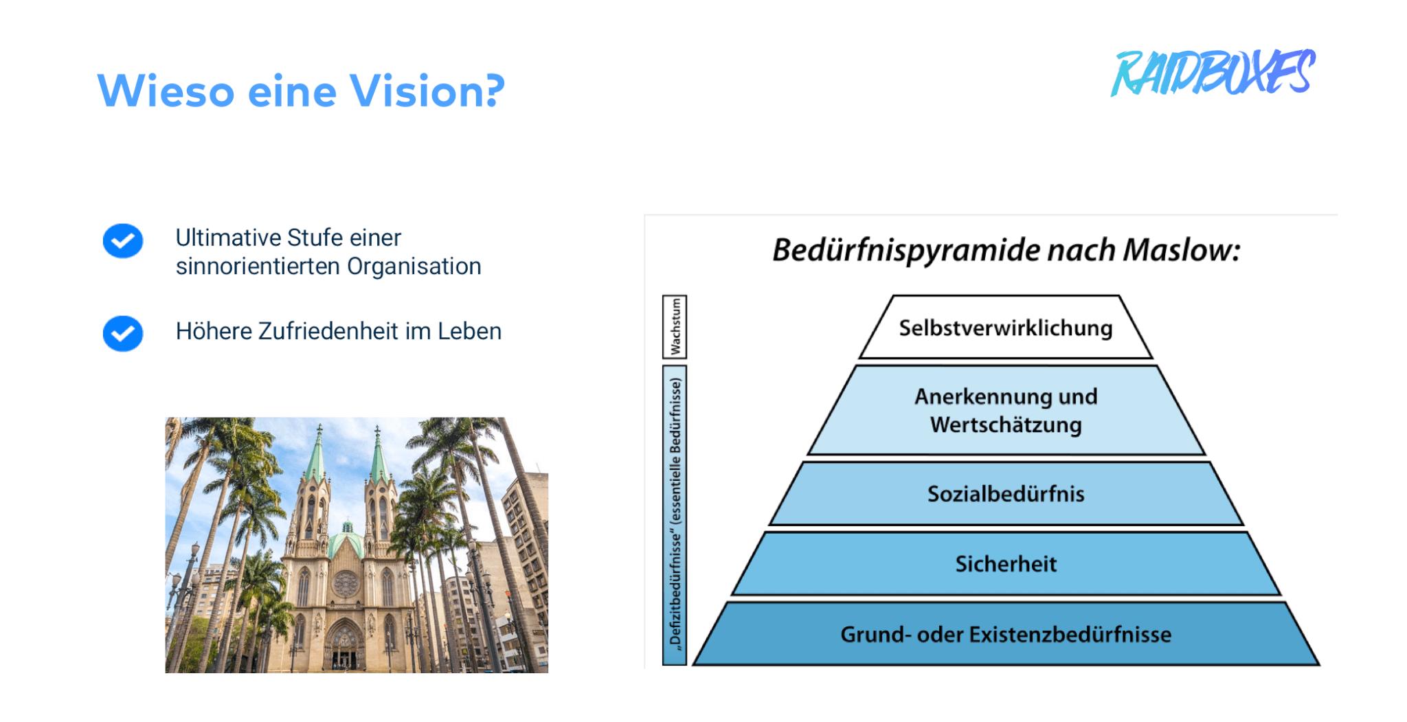 Wozu eine Unternehmensvision