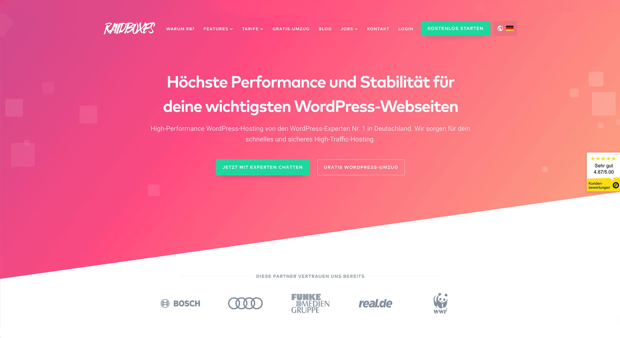 WebDesign Trender 2019: Mönster