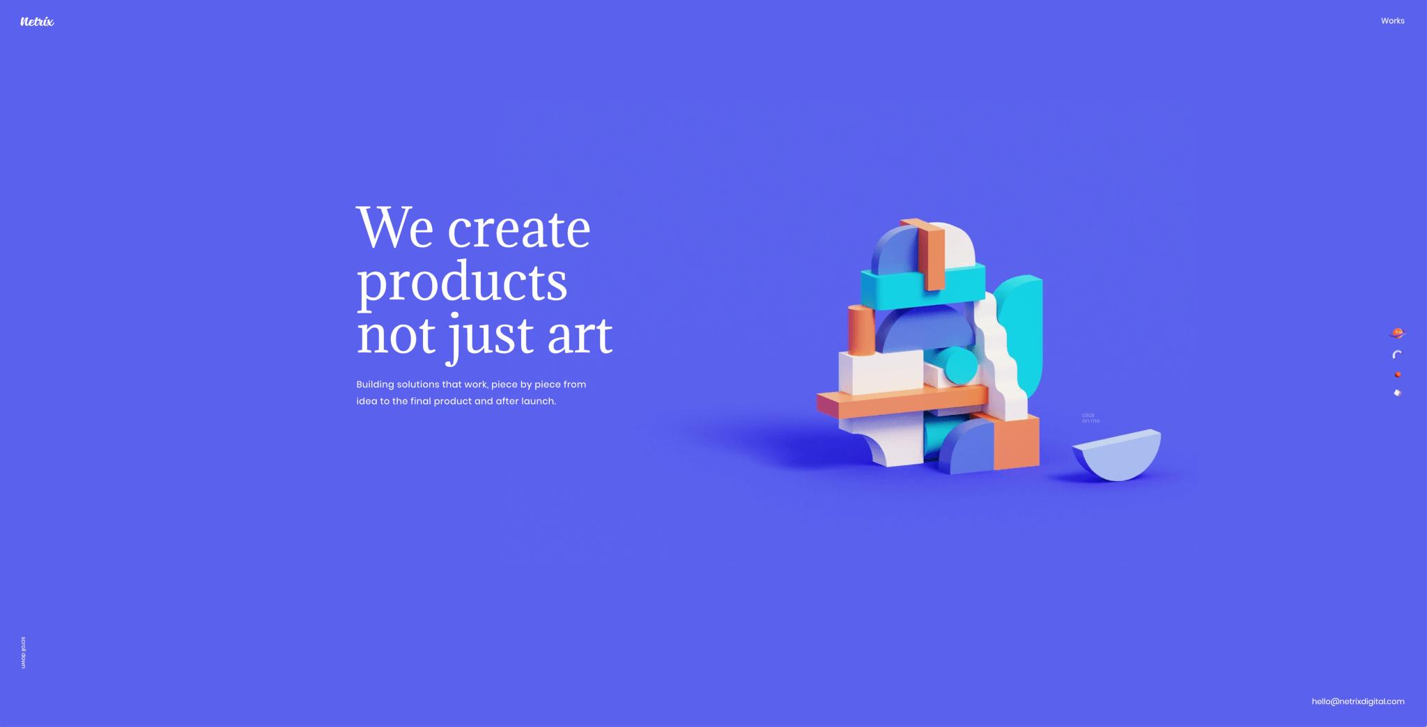Webdesign Trends 2019: Abstrakte Geometrie