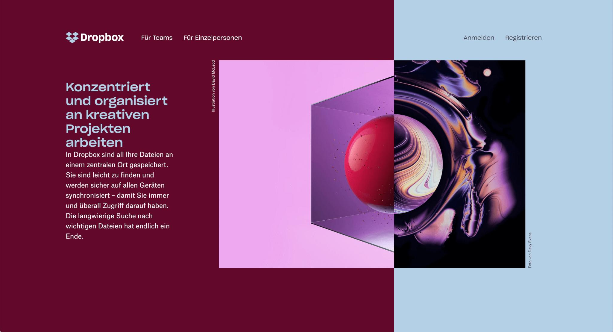 Webdesign Trends 2019: Rasterlayouts