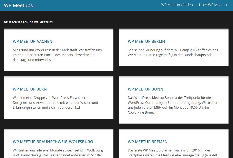 Communauté wpmeetups.com