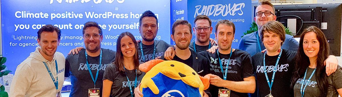 RAIDBOXES  with Matt Mullenweg at the WCEU