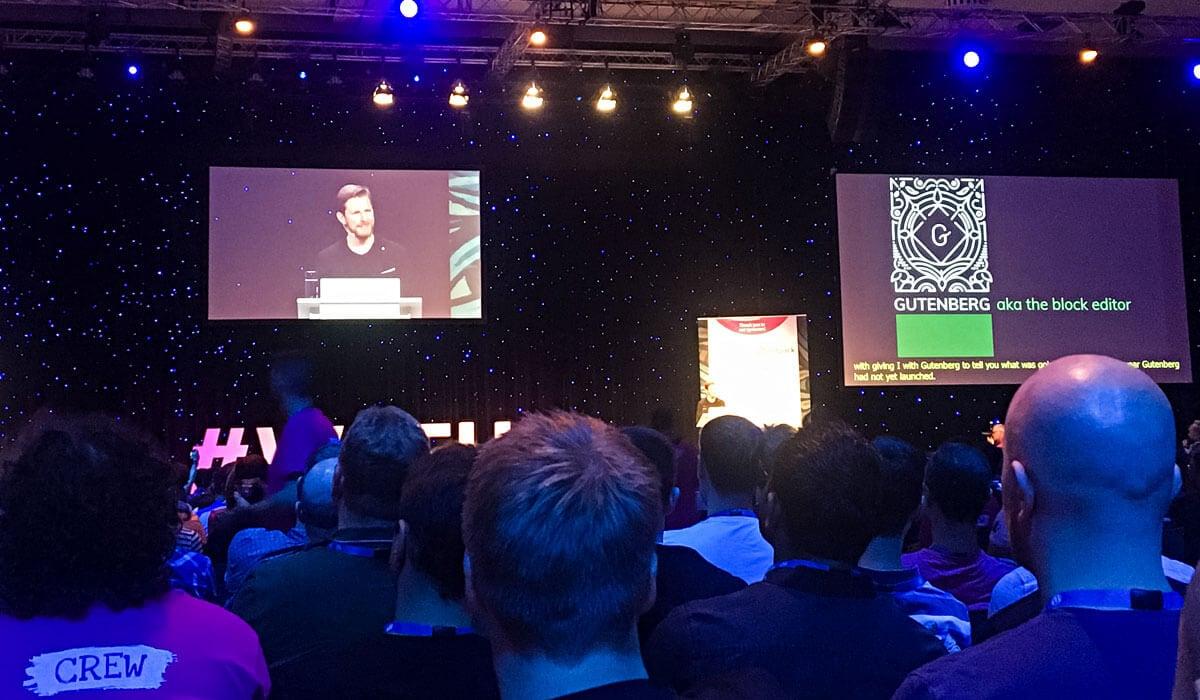 Matt Mullenweg WordPress Keynote