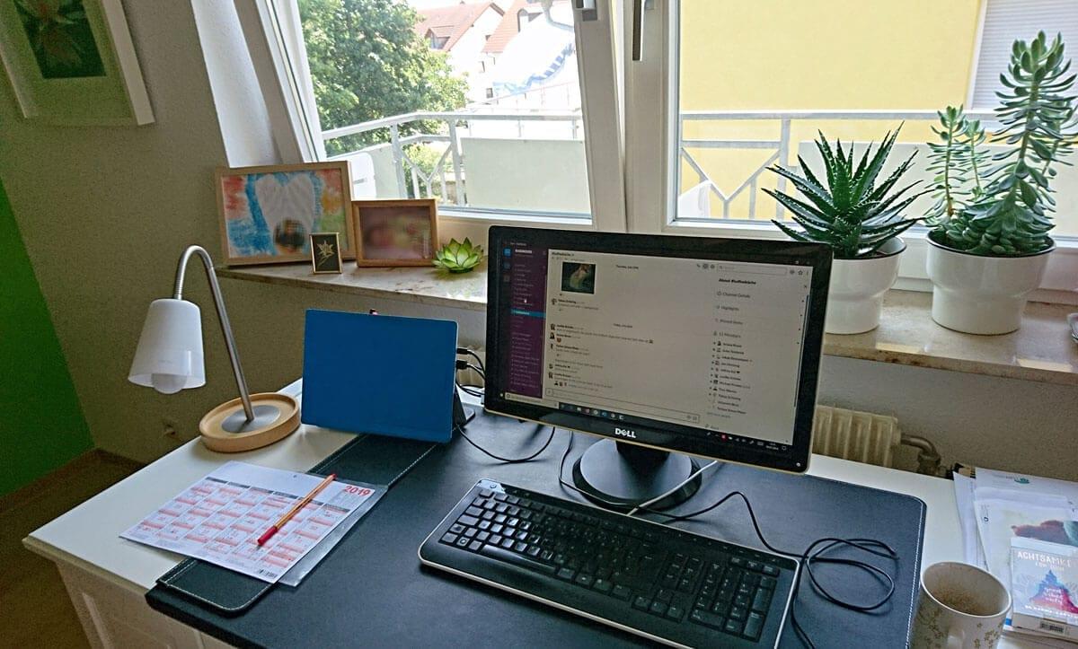 Remote Arbeitsplatz