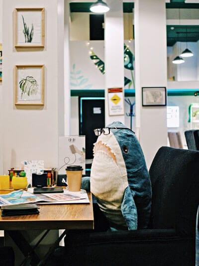 Arbeiten im Büro