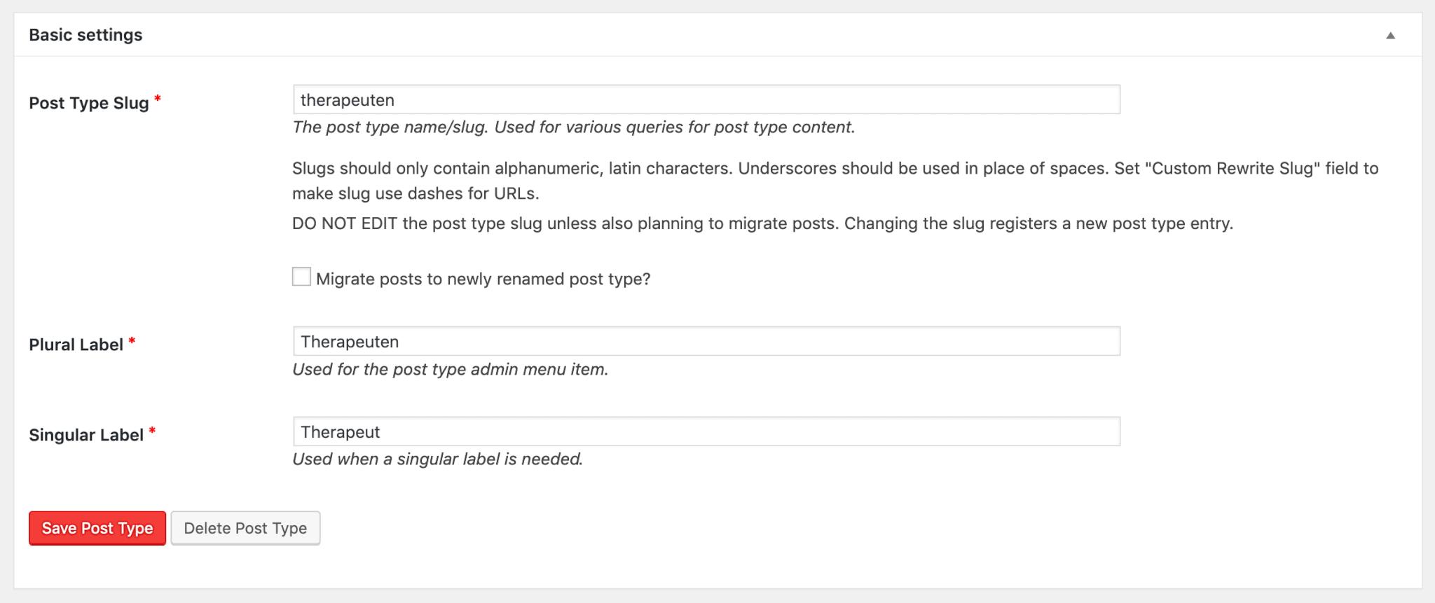 custom post type erstellung