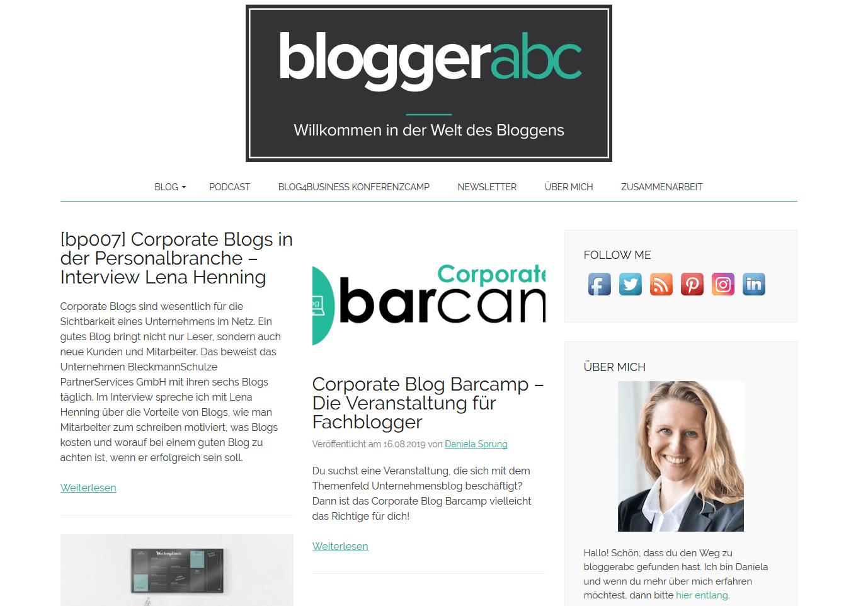 bloggerabc Daniela Sprung