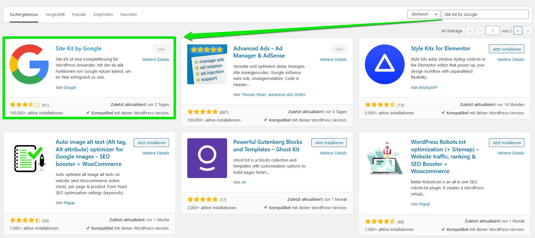 Google Site Kit: So funktioniert das erste offizielle Google-Plugin für WordPress