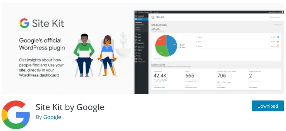 Google Site Kit : Voici comment le premier Google- officielPlugin pour WordPress