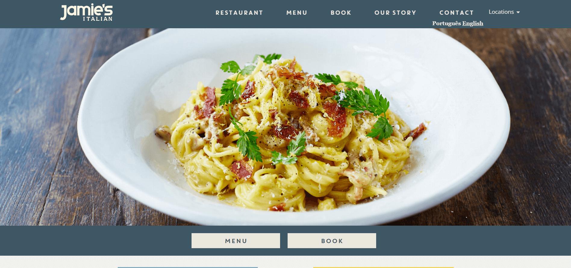 Jamie Oliver´s Restaurant